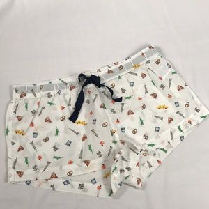 J Crew- NWT Sleep shorts, 100% cotton, size L,